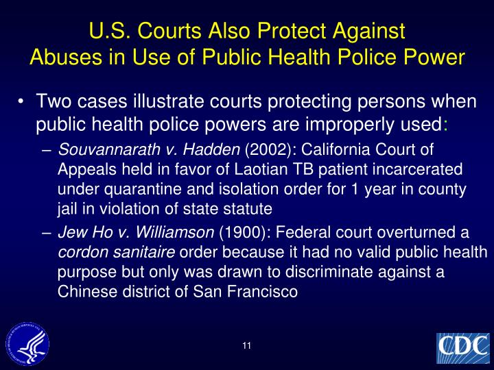 U.S. Courts Also Protect Against