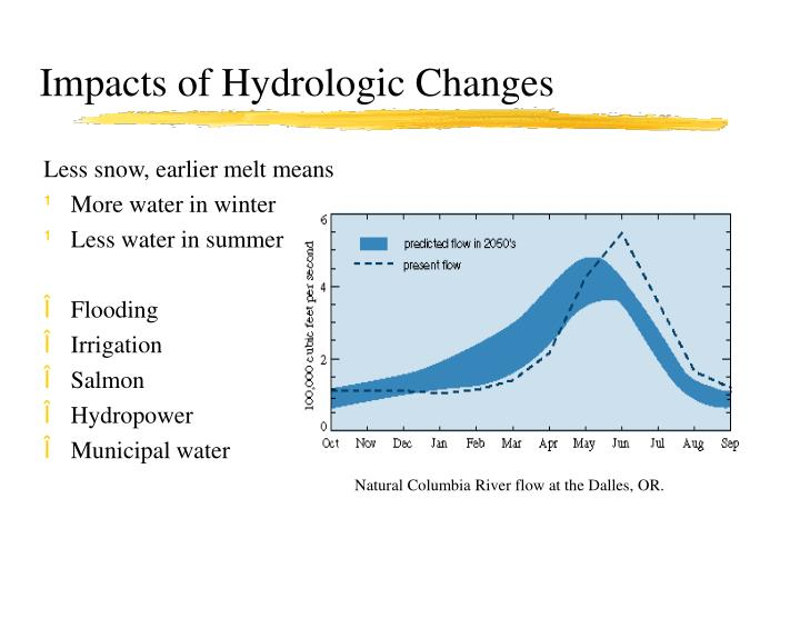 Impacts of Hydrologic Changes