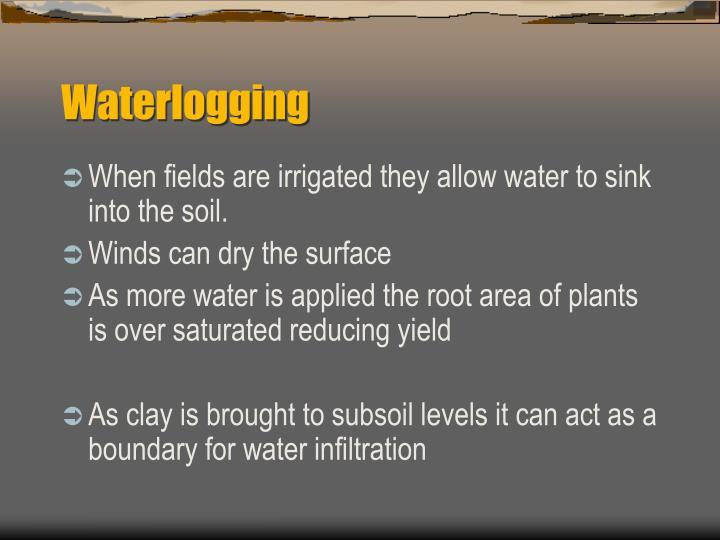 Waterlogging