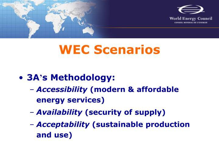 WEC Scenarios