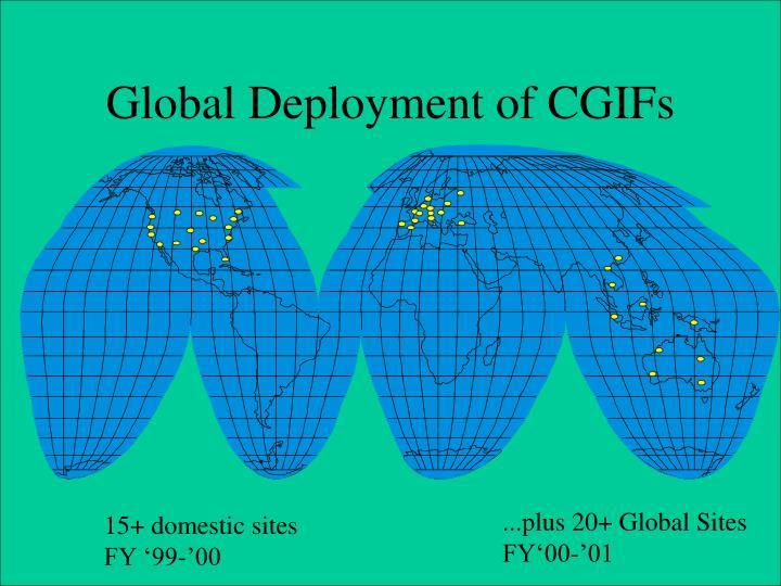 Global Deployment of CGIFs