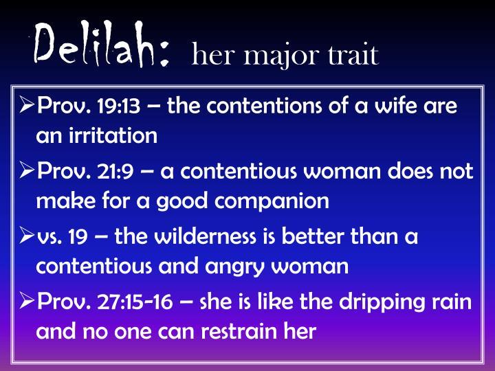 Delilah: