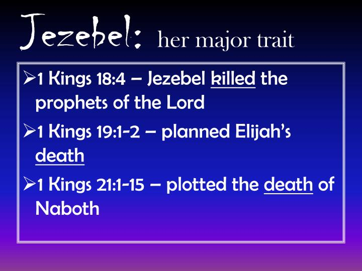 Jezebel: