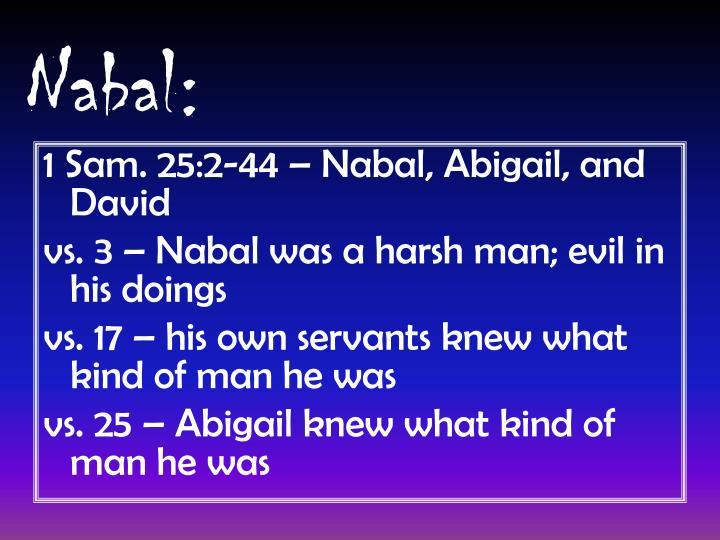 Nabal: