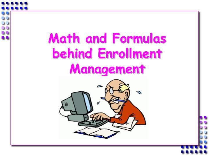 Math and Formulas