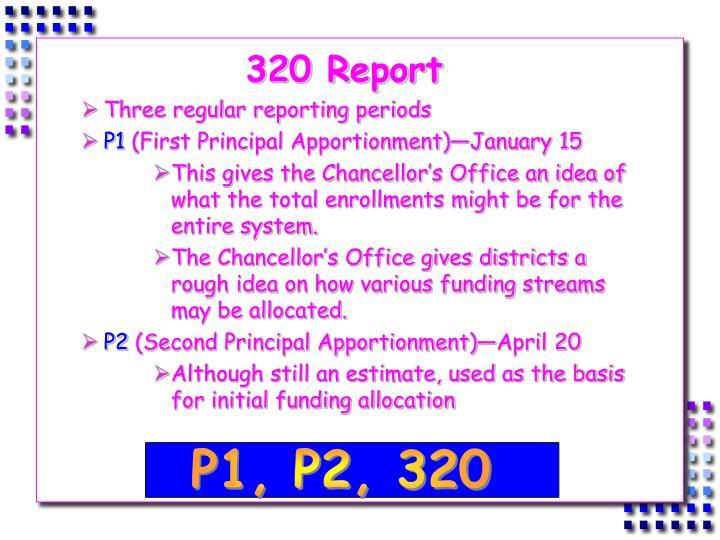 320 Report