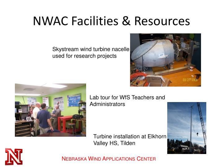 NWAC Facilities & Resources