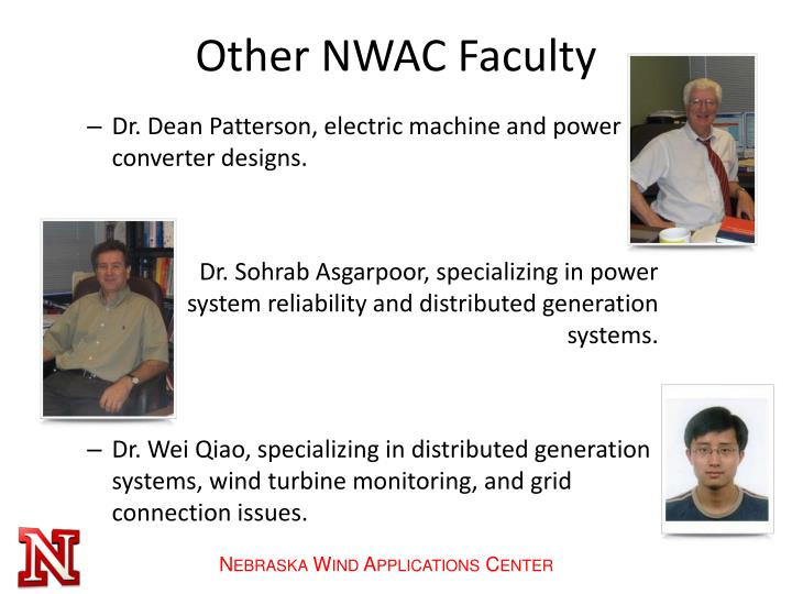 Other NWAC Faculty