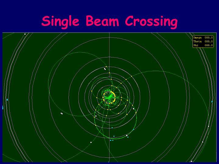 Single Beam Crossing