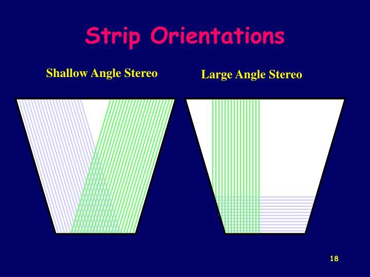 Shallow Angle Stereo