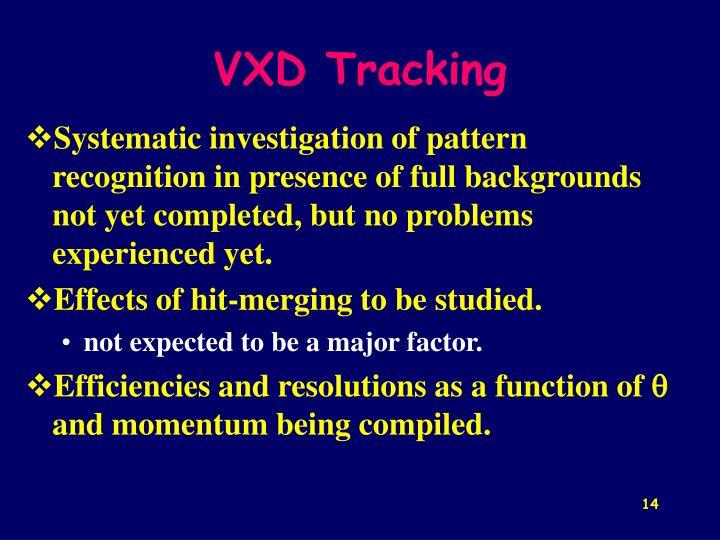 VXD Tracking