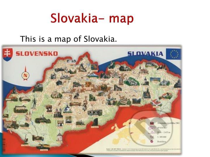 Slovakia- map