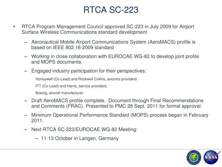 RTCA SC-223