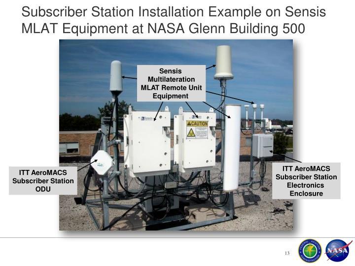 Subscriber Station Installation