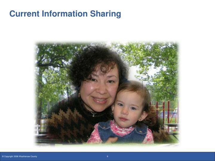 Current Information Sharing