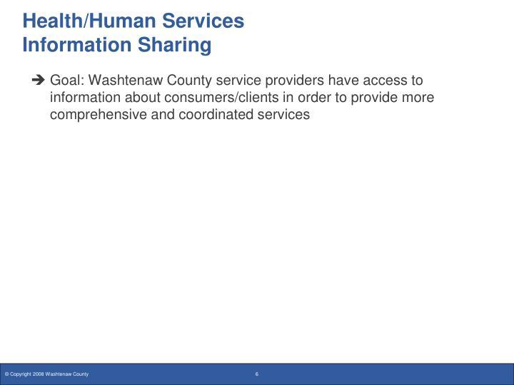 Health/Human Services