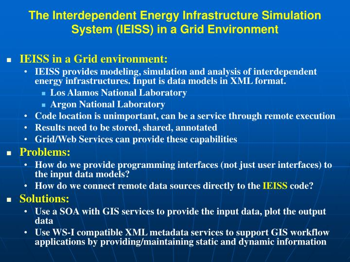 The Interdependent Energy Infrastructure Simulation