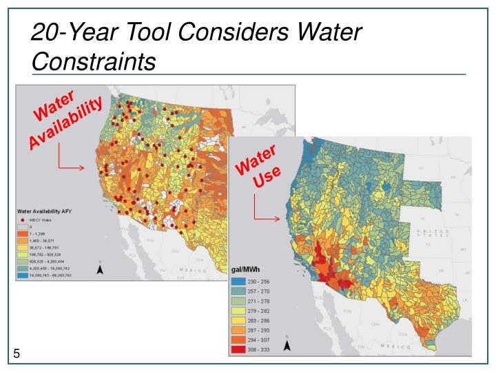20-Year Tool Considers Water Constraints