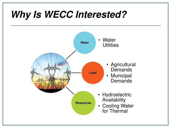 Why Is WECC Interested?