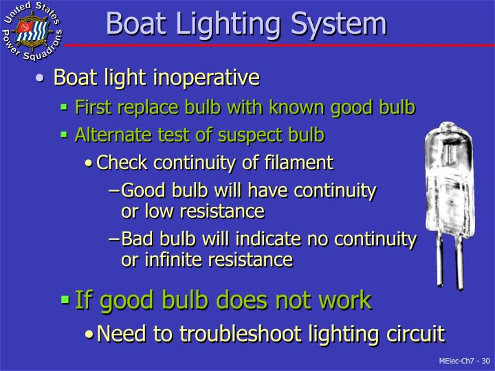 Boat Lighting System