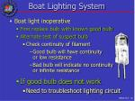 boat lighting system