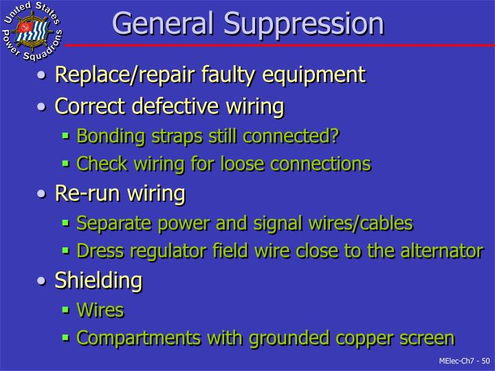 General Suppression