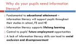 why do your pupils need information literacy1