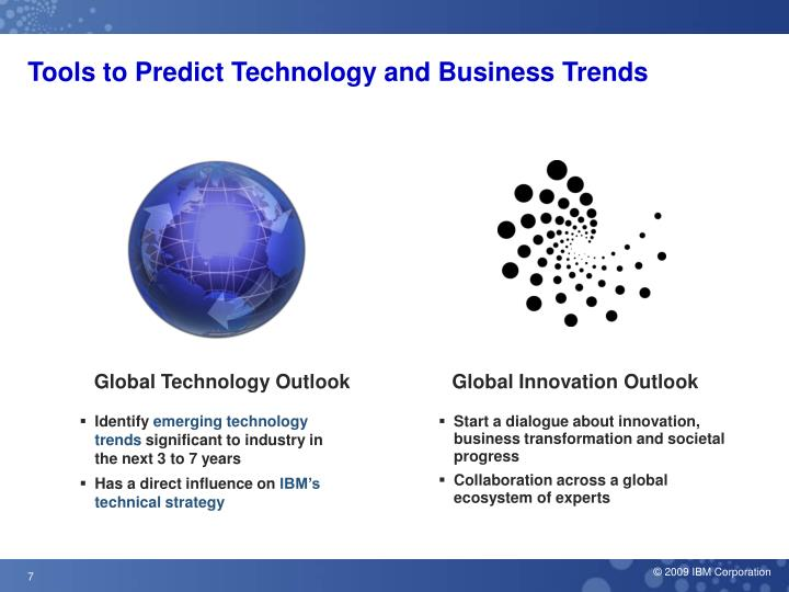 Tools to Predict Technology and Business Trends