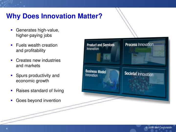 Why Does Innovation Matter?