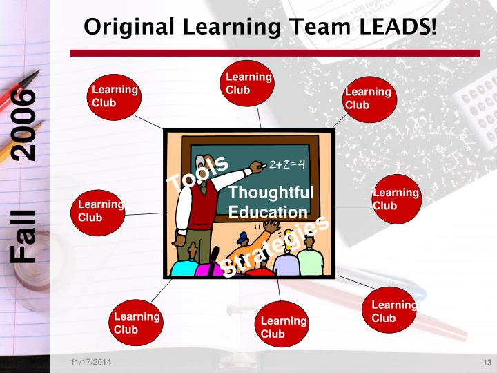 Original Learning Team LEADS!