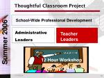 thoughtful classroom project6