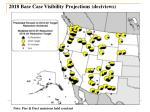 2018 base case visibility projections deciviews
