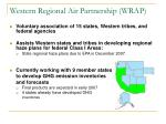 western regional air partnership wrap