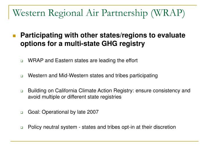 Western Regional Air Partnership (WRAP)