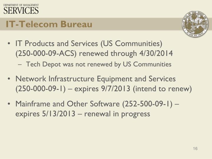IT-Telecom Bureau