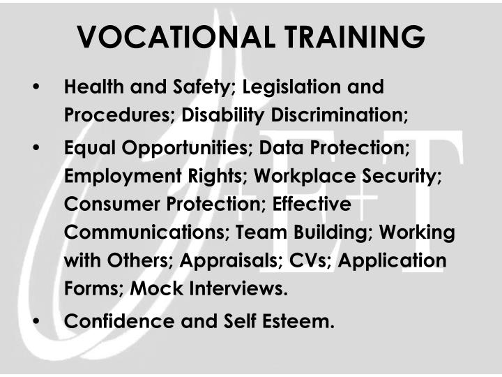 Health and Safety; Legislation and Procedures; Disability Discrimination;