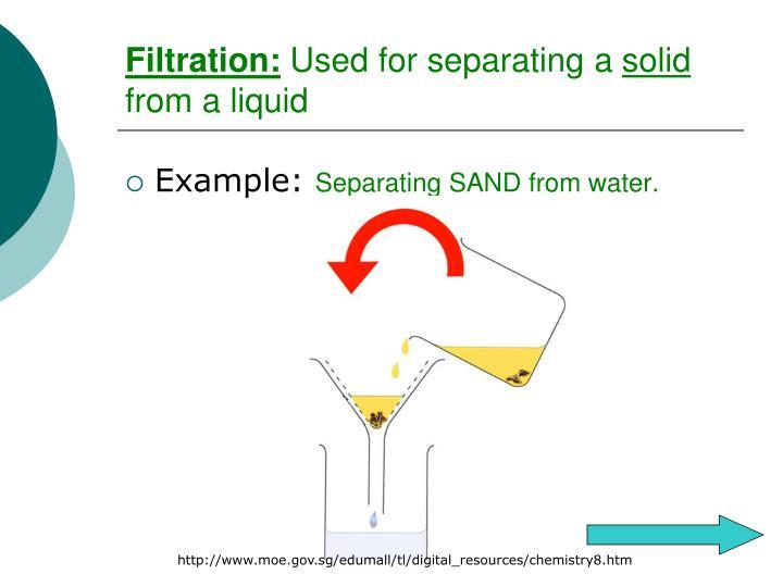 Filtration:
