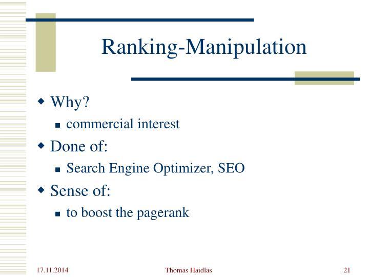 Ranking-M