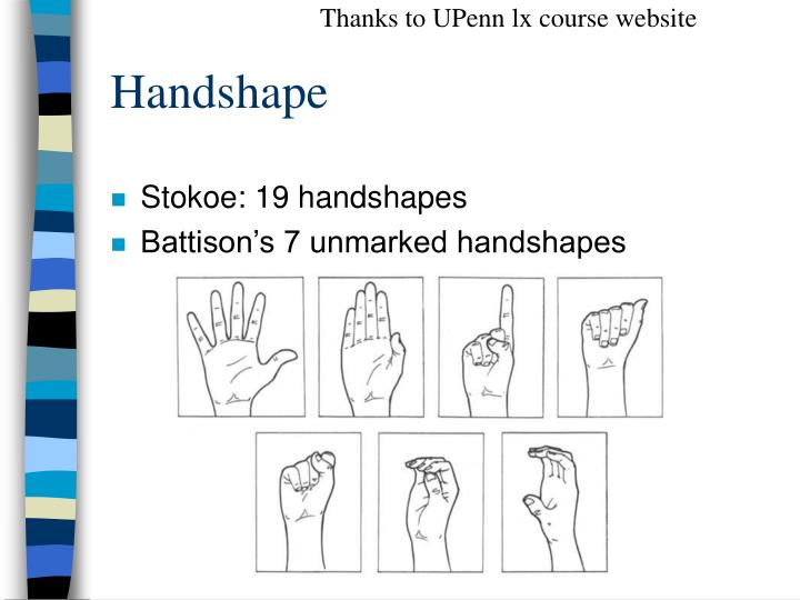 Thanks to UPenn lx course website