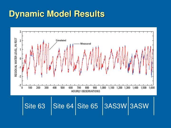 Dynamic Model Results