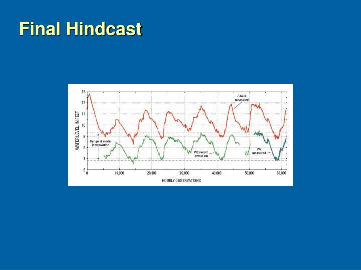 Final Hindcast