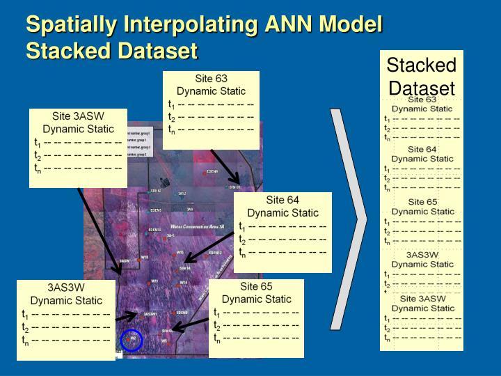 Spatially Interpolating ANN Model