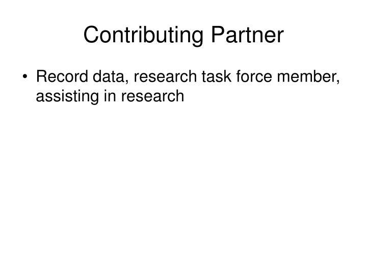 Contributing Partner