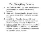 the compiling process1