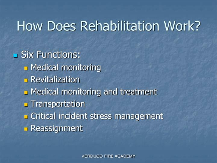 How Does Rehabilitation Work?