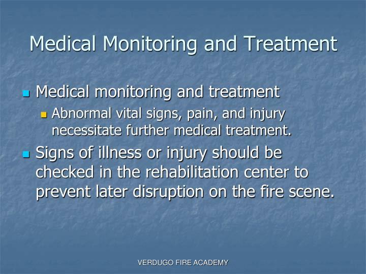 Medical Monitoring and Treatment