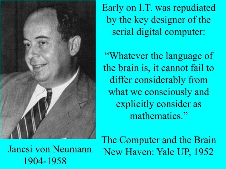 3: John von Neumann 1