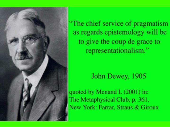 John Dewey on Representationalism