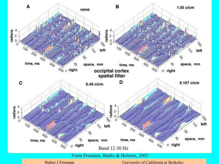 Spatial filtering to clarify analytic phase differences