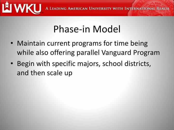 Phase-in Model